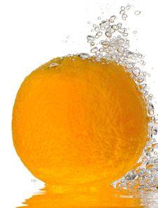 Free Bubbly Orange Royalty Free Stock Image - 19577916