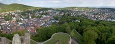 Free Koenigstein Panorama And Castle Stock Image - 19578831