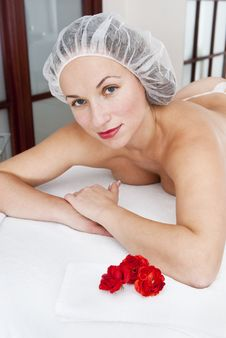 Free Woman In Spa Salon Stock Image - 19579211