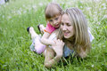 Free Mother And Her Daughter In The Park On  Sunny  Day Stock Photography - 19584622