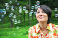 Free Flying Bubbles Royalty Free Stock Photo - 19587535