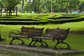 Free Bench In The Park Royalty Free Stock Photography - 19587647