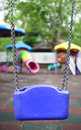 Free Bck View Of A Child Swing Stock Photography - 19588562