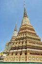 Free Ancient Pagoda Or Chedi At Wat Pho Stock Photos - 19589353