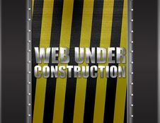Free Web Under Construction Royalty Free Stock Photo - 19580775