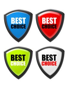 Free Best Choice Sign Royalty Free Stock Images - 19580849