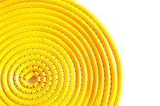 Free Swirl Yellow Cable Marker Stock Photos - 19581083