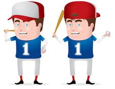 Free Baseball Boy Royalty Free Stock Image - 19582176