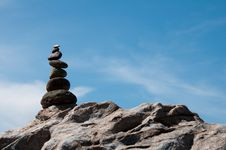 Free Balanced Rocks. Royalty Free Stock Image - 19582446