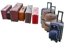 Free Travelling Suitcases Stock Image - 19582461