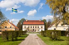 Free Mansion In Sweden. Royalty Free Stock Images - 19582509