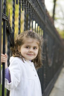 Free Little Girl Smile Stock Photography - 19582612