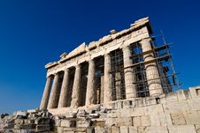 Free The Parthenon At Athens Royalty Free Stock Images - 19582639