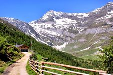 Free Mountain Scenery In The Oetztal Alps Royalty Free Stock Image - 19583306
