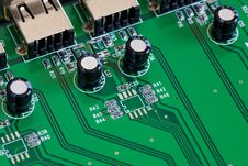 Free Computer Board Detail Stock Image - 19583811