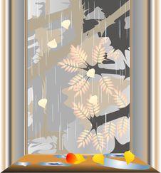 Free Autumn Window Stock Photo - 19583980