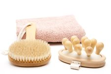 Free Back Brush And Massage Brush Royalty Free Stock Photo - 19584185
