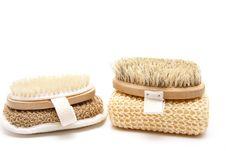 Free Back Brush With Sponge Royalty Free Stock Photo - 19584245