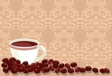 Free Background With Coffee Royalty Free Stock Images - 19585389
