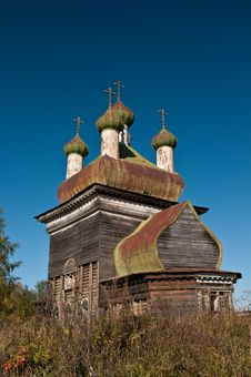 Free Russian Wooden Church Stock Photography - 19586582