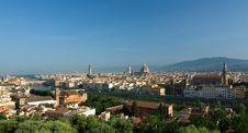 Free Florence Cityscape, Italy Royalty Free Stock Photos - 19587078