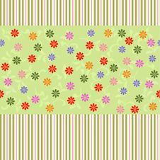 Flower Seamless Pattern In Vector Royalty Free Stock Photos