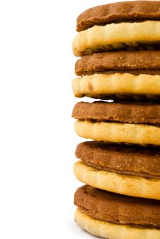 Free Stack Of Cookies Stock Image - 19587181