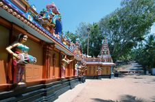 Free Traditional Hindu Temple, South India Royalty Free Stock Photos - 19587558