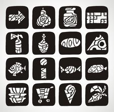Free Icons Stock Image - 19587861