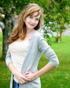 Posing Teen Stock Images