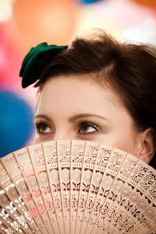 Free The Fan Royalty Free Stock Photography - 19588767