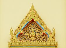 Free Thai Style Decoration Stock Photography - 19589342