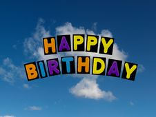 Free Happy Birthday Stock Photos - 19589343