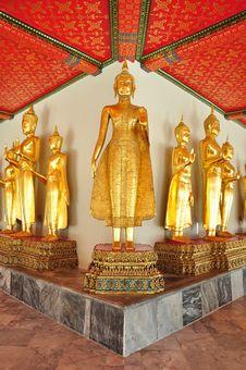 Free Golden Buddha Image Stock Photos - 19589433