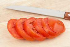 Free Chopped Tomato Royalty Free Stock Photo - 19589595