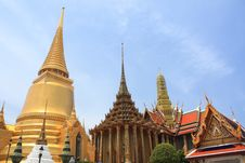 Wat Phra Kaeo 5 Stock Images