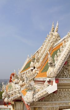 Free Temple Roof Royalty Free Stock Image - 19589886