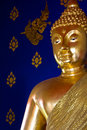 Free Golden Buddhist S Statue Royalty Free Stock Photo - 19590995