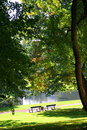 Free Relaxing Atmosphere In A Green Park Stock Photo - 19592680