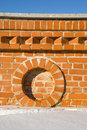 Free Bridge Red Brick Wall Background Royalty Free Stock Images - 19593209