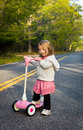 Free Pink Scooter Royalty Free Stock Photos - 19597528