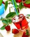 Free Strawberry Drink, Nonalcoholic Beverage Stock Images - 19599334