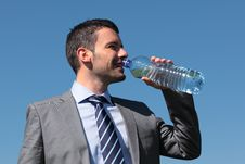 Free Drinking Water Royalty Free Stock Photos - 19590878