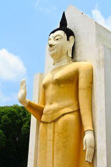 Free Yellow Buddha Stock Photos - 19591183