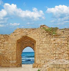Free Ruins At Israel Royalty Free Stock Photo - 19591305