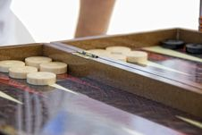 Free Backgammon Stock Photography - 19591562