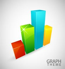 Free Colorful Graph Royalty Free Stock Image - 19592566