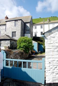 Free Cornish Cottages Stock Image - 19592721