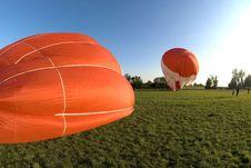 Free A Hot Air Balloon Royalty Free Stock Photography - 19593057