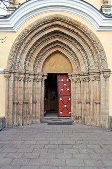 Free Castle Door Stock Photo - 19593310